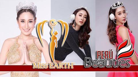 Teeyapar Sretsirisuvarna es Miss Earth Thailand 2019