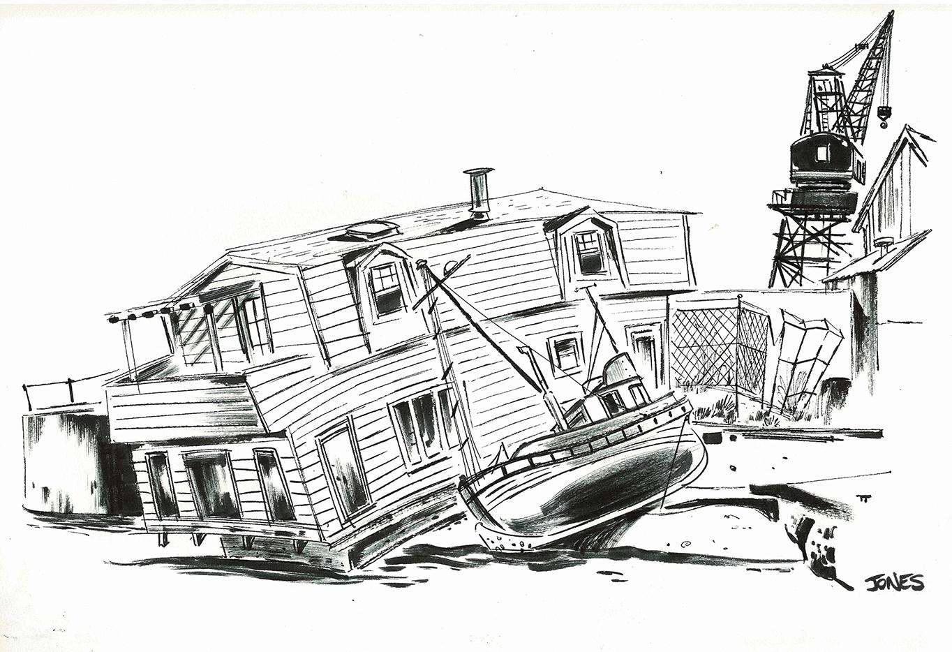 Matt Jones Winter Sketchcrawl Sfo