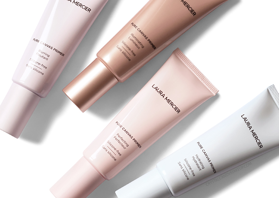 Laura Mercier Pure Canvas Primers Review Photos Swatches Blurring Hydrating Illuminating Perfecting