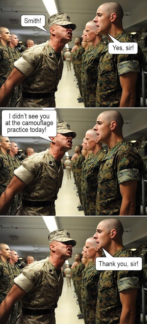 Funny Joke Image- Army