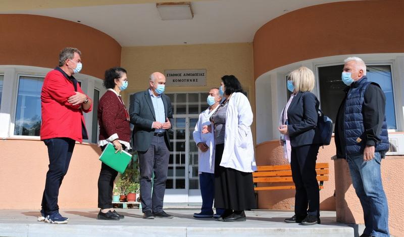 5,4 εκατ. ευρώ από το ΕΣΠΑ της ΠΑΜΘ για εξοπλισμό των Νοσοκομείων Καβάλας, Ξάνθης, Κομοτηνής και Αλεξανδρούπολης