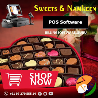 Namkeen Farsan Sweets Business Accounting Billing Barcode Label and Inventory Management with Retail POS Wholesale manufacturing Features HDPOS GOFRUGAL MARG SpeedPlus 9.0 Brain RetailEasy Busy Miracle Raintech
