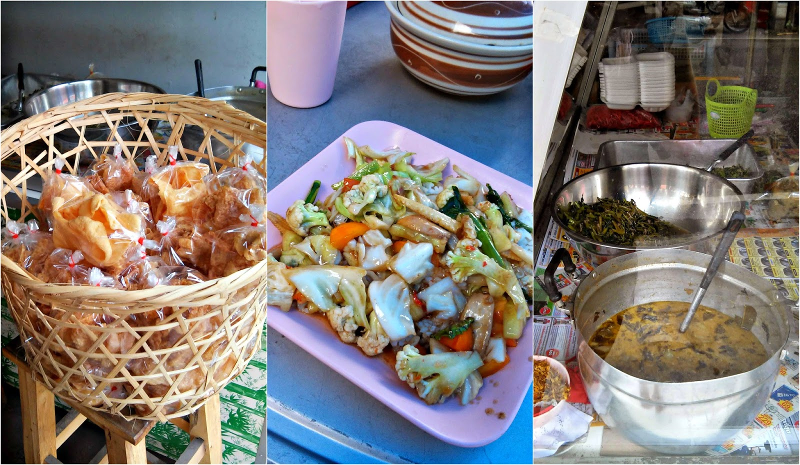 Vegetarian vegan Jay food Chiang Mai