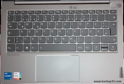 لوحة المفاتيح ولوحة اللمس ThinkBook 13s