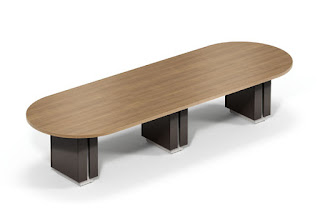 Global Zira Racetrack Conference Table
