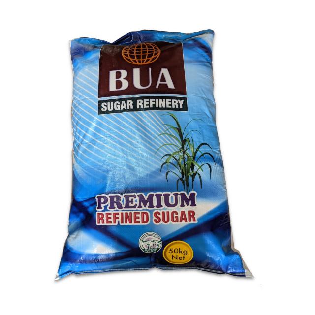 Bua Premium Refined Sugar 50kg Bag