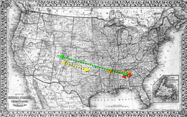 migration, southerners, Indian Territory, Oklahoma,