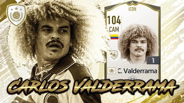 Review Carlos Valderrama ICON FO4