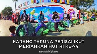 Karang Taruna Prisai Ikut Meriahkan HUT RI ke-74 Di Desa Sido Mukti Kecamatan Padang Jaya