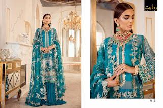 Rawayat Damask x Rouche pakistani Suits catalog