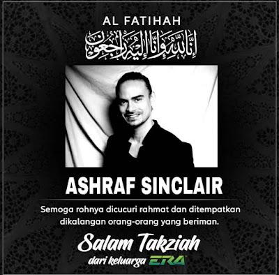 Ashraf Sinclair passed away