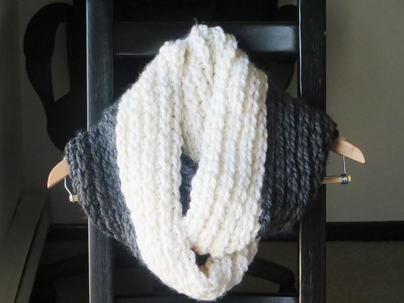 Knitting Chunky Scarves - Erieairfair