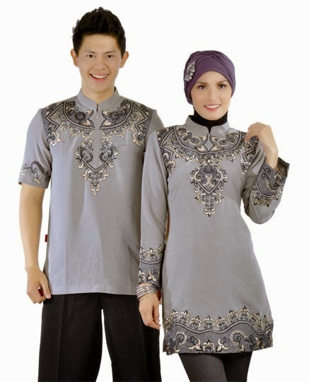 Desain Baju Muslim Couple Terlaris