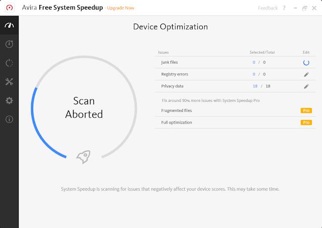 تحميل برنامج تنظيف وتحسين النظام وحل العديد من مشاكل الجهاز Avira System SpeedUp للويندوز