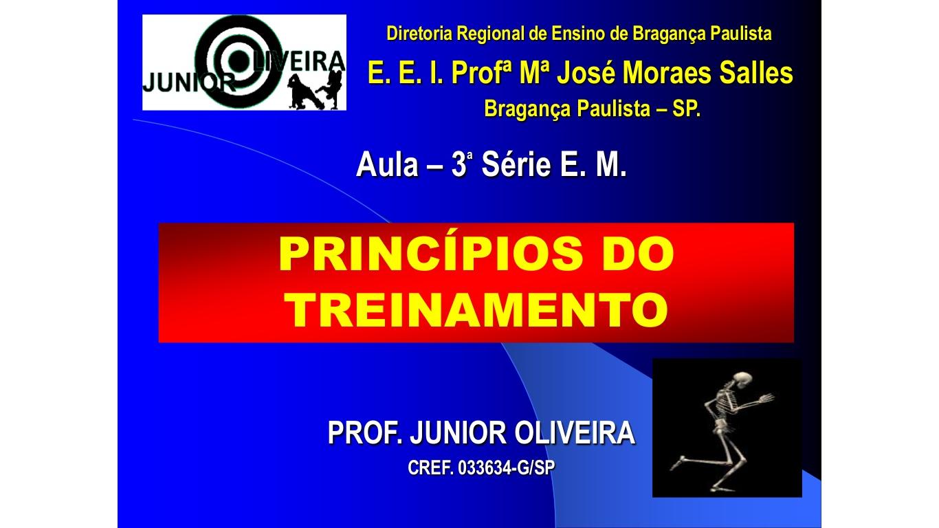 Prof Júnior Oliveira: Junior Oliveira