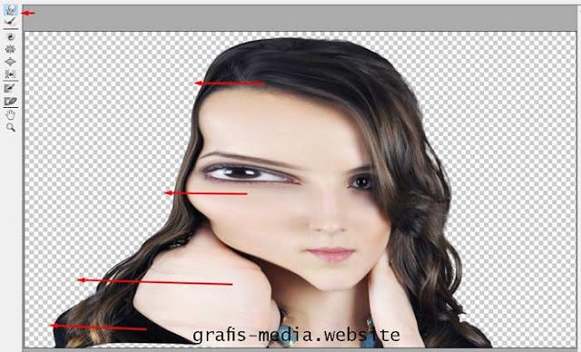 Tutorial menciptakan imbas dispersion dengan photoshop Tutorial Membuat Efek Dispersion Dengan Photoshop