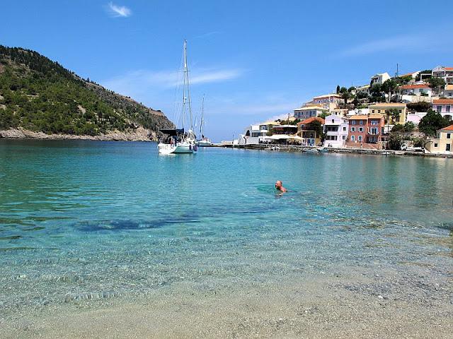 assos harbour kefalonia greece photo by sue wellington