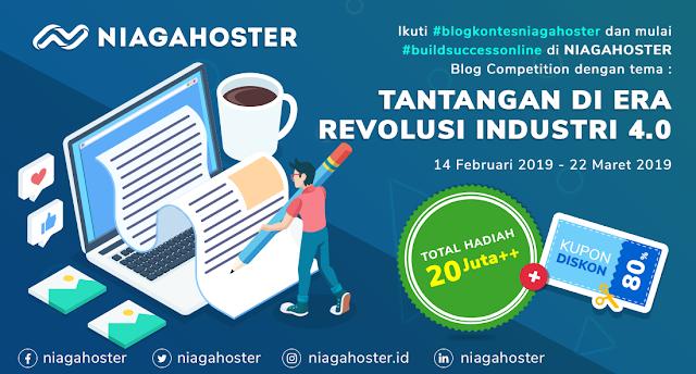 Ikuti Lomba Blog Niagahoster dan Menangkan Hadiah Jutaan Rupiah!!