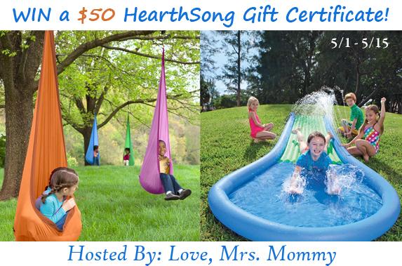HearthSong $50 GC Giveaway