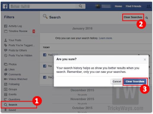 Facebook Clear Activity Log 2018 ~ Facebook Online Support