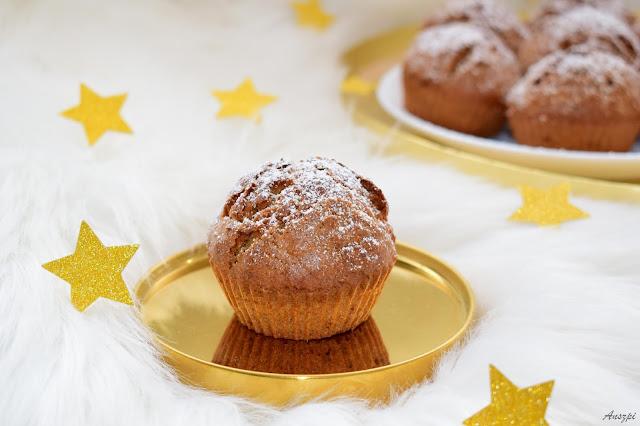 Świąteczne muffinki marchewkowo piernikowe