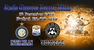 JUDI BOLA DAN CASINO ONLINE - PREDIKSI SKOR SERIE A ITALIA INTER MILAN VS UDINESE 16 DESEMBER 2017