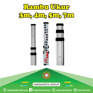 Jual Rambu Ukur 3m, 4m, 5m, 7m di Kendari