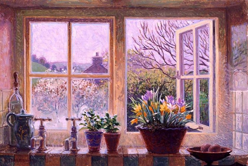 Stephen Darbishire 1940 | British Interiors and Landscape painter