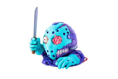 Designer Con 2019 Exclusive Friday the 13th Jason Voorhees 8-Bit Variant Mondoids Vinyl Figure by Mondo
