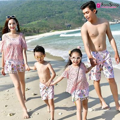 Bikini gia đình M723
