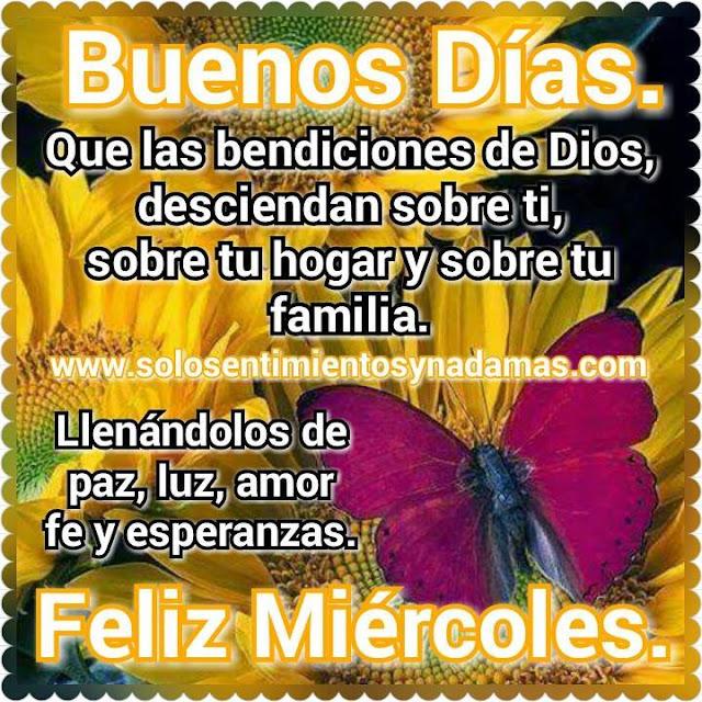Buenos Dias Feliz Miercoles Mi Amor 55270 Loadtve