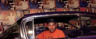 Denise's husband Morello inside the car