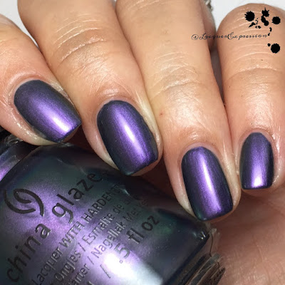 Nail polish swatch of Pondering by China Glaze