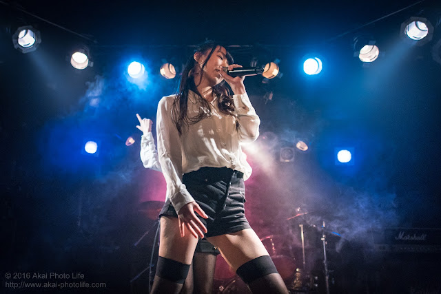 地下アイドル、朝奈ユナ、モルガーナで撮影したライブの写真