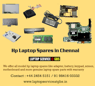 Hp Laptop Replacement Parts In Chennai