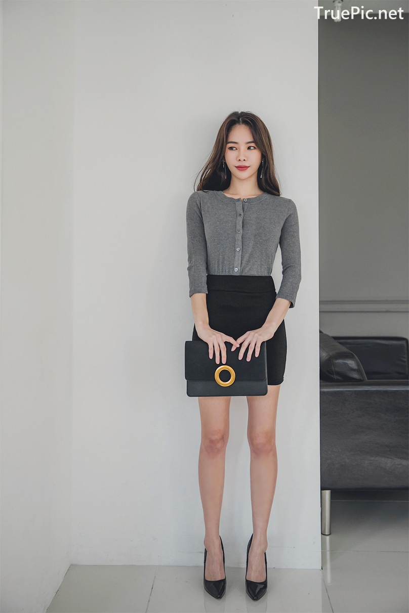 Image Korean Fashion Model - An Seo Rin - Office Dress Collection - TruePic.net - Picture-8
