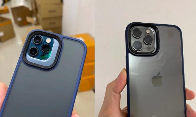 Rò rỉ thông tin Cụm camera iPhone 13 Pro có kích thước lớn iphone 12