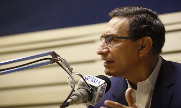 Presidente Vizcarra afirma que recibió pedido de AP y APP para postergar elecciones