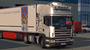 Scania 4 edit by Kirill Miadshev