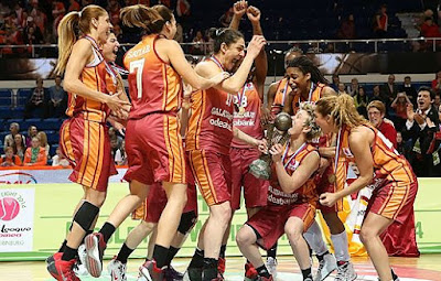 2014 Euroleague Women şampiyonu Galatasaray Odeabank