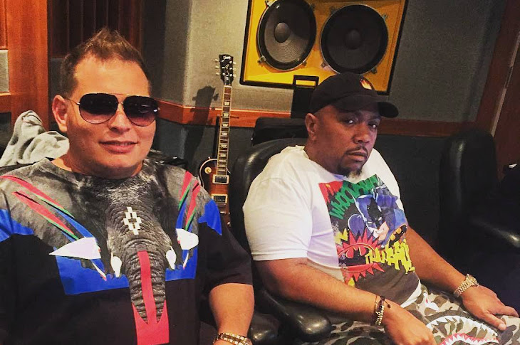 Timbaland And Scott Storch In The Studio Together