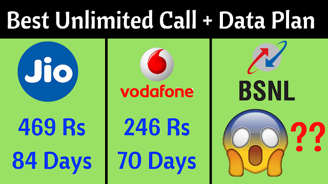 Jio Vs Airtel Vs Vodafone Vs Idea Vs BSNL