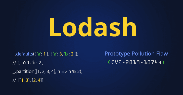 lodash prototype pollution flaw