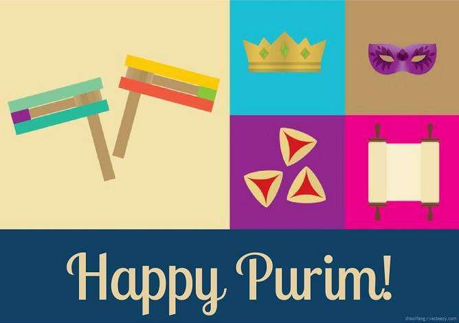 Purim Wishes Awesome Picture