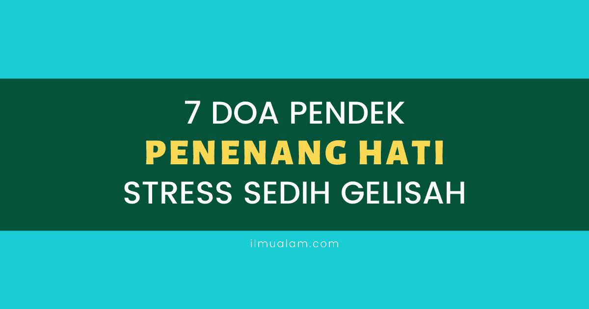 doa untuk hilangkan stress