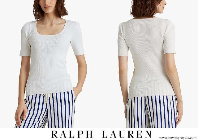 Kate Middleton wore Ralph Lauren Nadalia Top