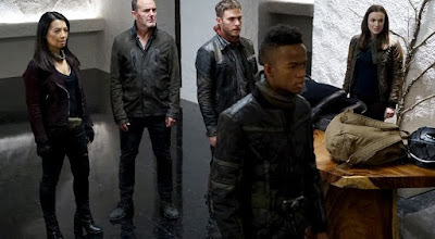 Agents of SHIELD with Flint