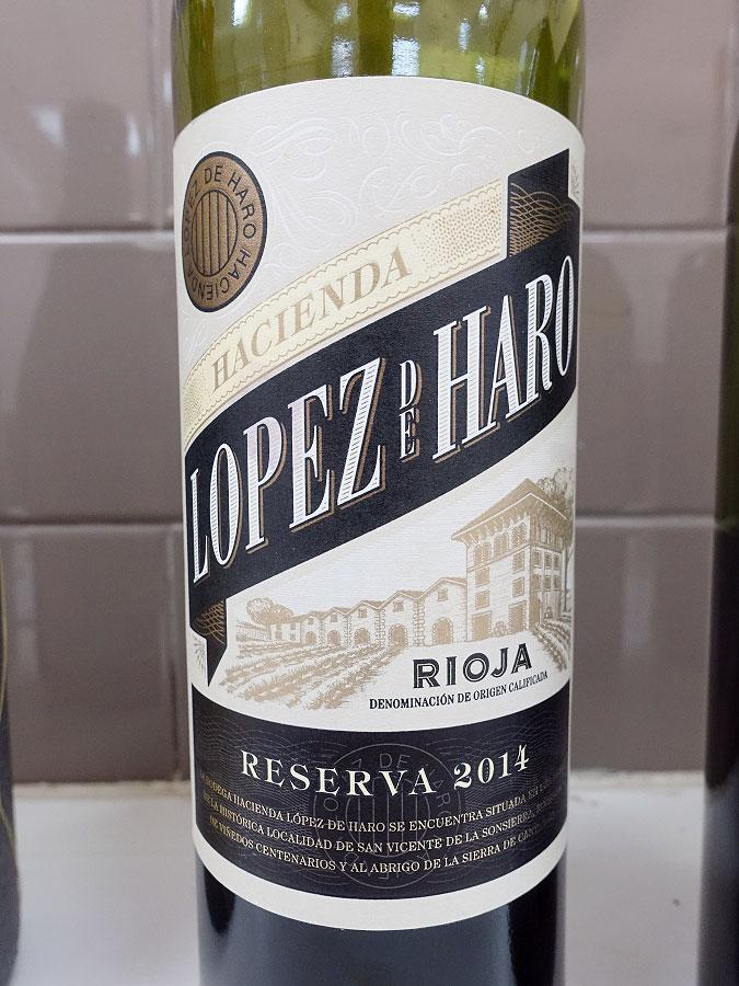 Hacienda López de Haro Reserva 2014 (89 pts)