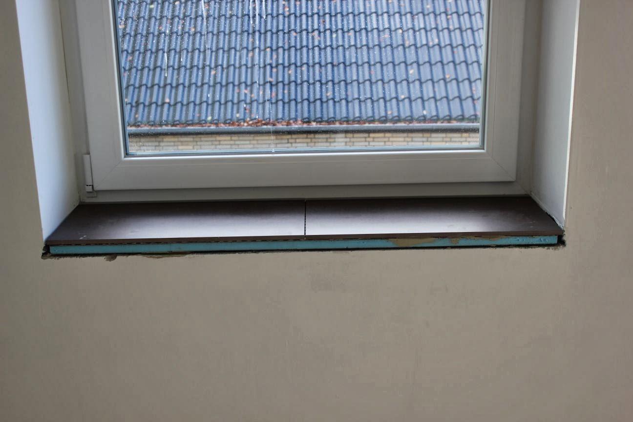 Fensterbank Fliesen unser weg zum haus in hoisdorf dachboden fliesen und fensterbänke