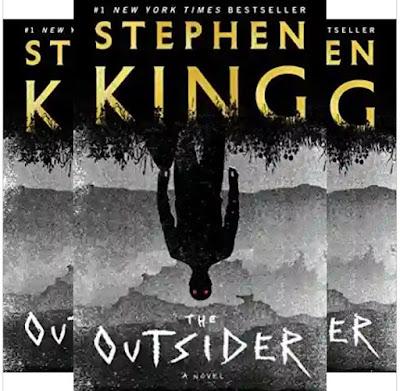 Stephen King's Book: The Outsider - Suspense and Thriller Novel (576 Pages) - Publisher: Scribner